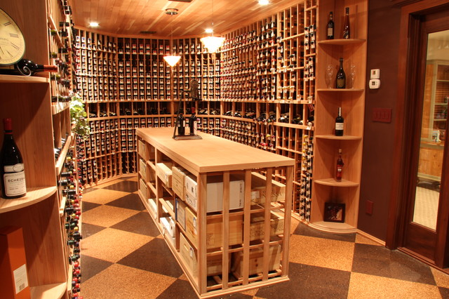 Unique Wine Cellar Ideas Traditional Salt Lake City By Racks America