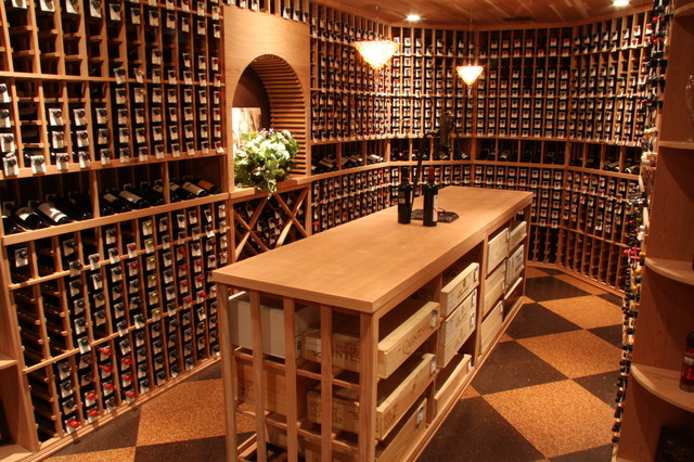 Unique Wine Cellar Ideas - Traditional - Wine Cellar - salt lake city ...