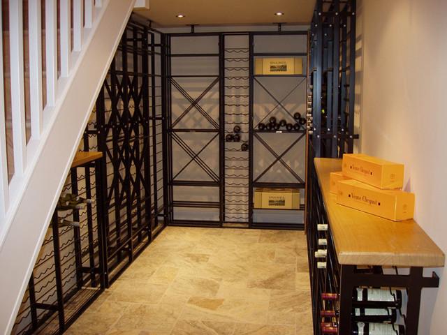 Handmade Wine Storage traditional-wine-cellar