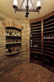 Tudor Renovation - Traditional - Wine Cellar - new york - by Daniel Contelmo Architects
