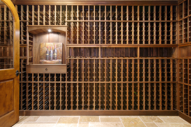 Tuscan Home wine-cellar