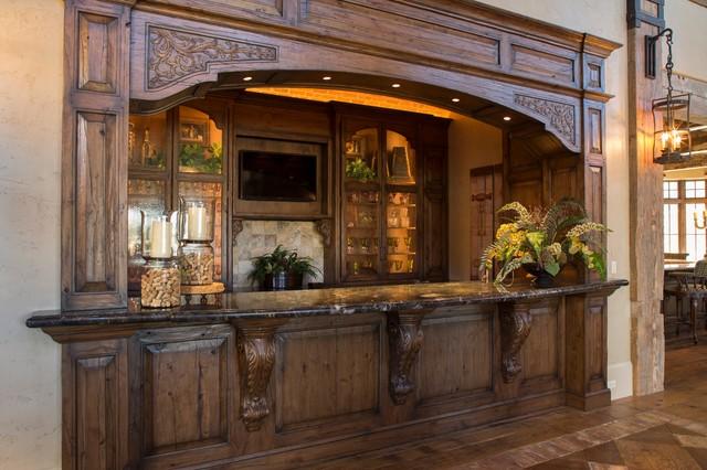 Tuscan Villa Traditional Wine Cellar Houston By Ellis Custom Homes Llc