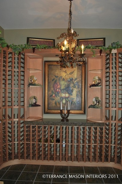 Tuscan Villa Wine Cellar Mediterranean Wine Cellar Denver By Terrance Mason Interiors