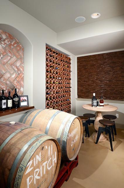 Tuscan Wine Cellar Traditional Wine Cellar Denver By Basements Amp Beyond