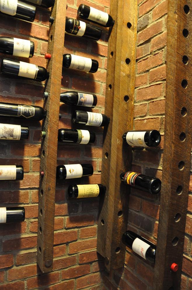 Example of a wine cellar design in Minneapolis