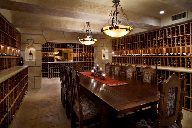 Tuscan Wine Room Mediterranean Cellar San Francisco By Allwood Construction Inc