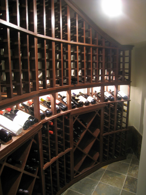 Under The Stairs Wine Room Houston Tx Rustic Wine