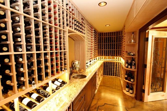 Unique Wine Cellar Ideas Traditional Wine Cellar