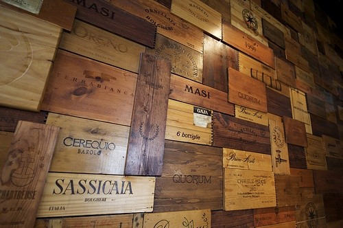 Unique Wine Crate Panel Projects - Modern - Wine Cellar - other metro ...