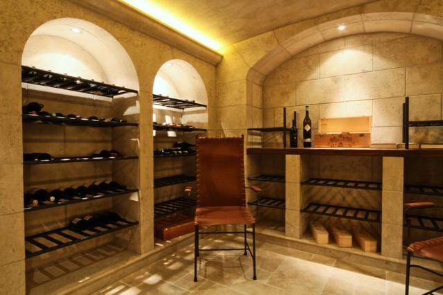 Vin De Garde Custom Modern Wine Cellar Designs Arches