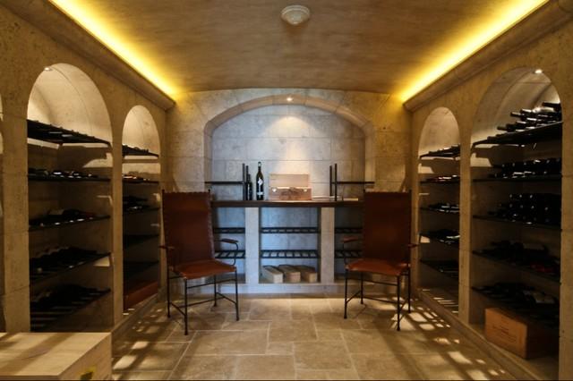 vin de garde custom modern wine cellar designs arches modern wine cellar vancouver by. Black Bedroom Furniture Sets. Home Design Ideas