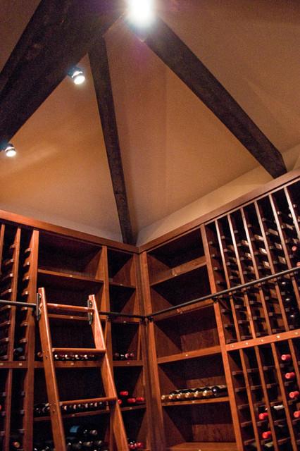 Vin de Garde Custom Traditional, Modular California Series Wine Cellar traditional-wine-cellar
