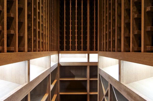 vin de garde custom traditional wine cellar wood 2. Black Bedroom Furniture Sets. Home Design Ideas