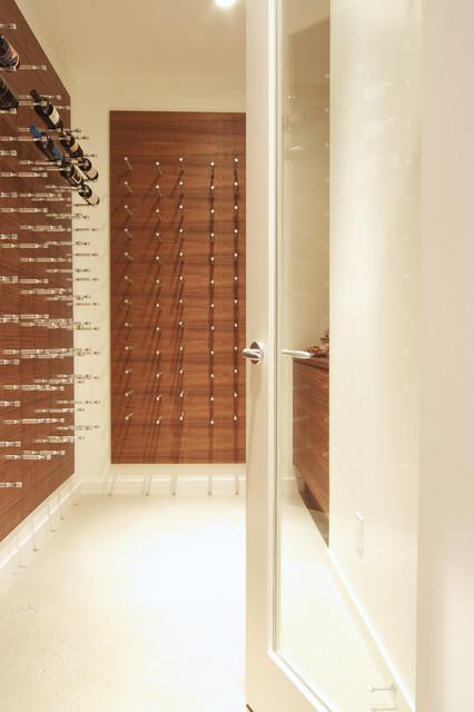 Vin de Garde Custom Wine Cellar (Modern Nek Rite Series) [Project 1] modern-wine-cellar