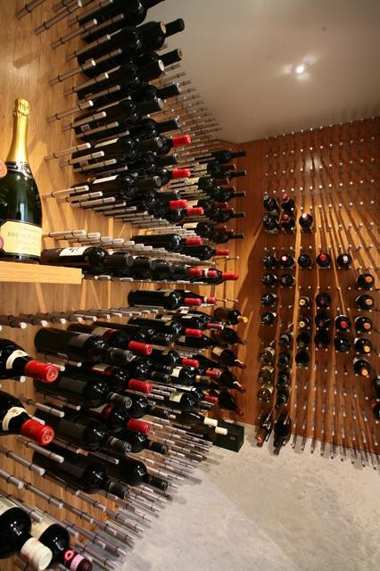 Modern Wine Cellar By Vin De Garde Cellar Systems Inc. Part 9