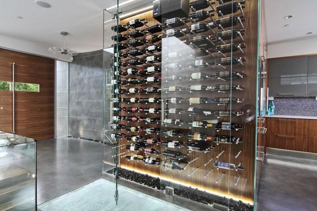 Modern Wine Cellar By Vin De Garde Cellar Systems Inc. Part 6