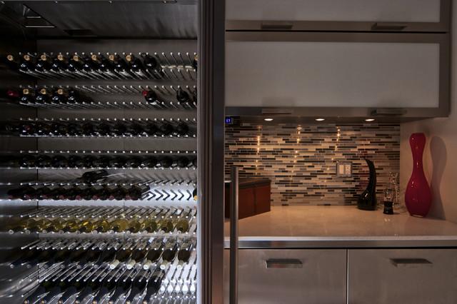 Vin De Garde / Modern Wine Cellars modern-wine-cellar