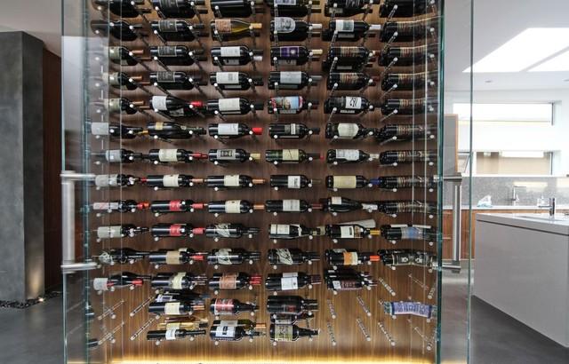 vin de garde modern wine cellars modern wine cellar vancouver by vin de garde cellar. Black Bedroom Furniture Sets. Home Design Ideas