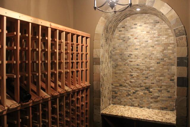 Vinings Basement mediterranean-wine-cellar