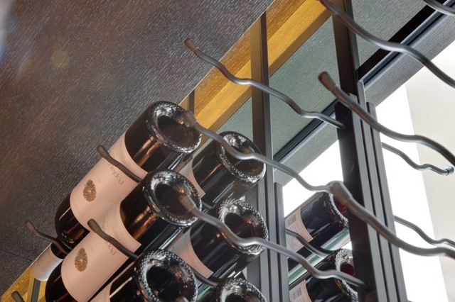 Vintage View Wine Racking contemporary-wine-cellar