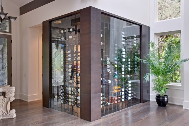 Vintage View Wine Racking Contemporary Wine Cellar