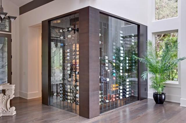 Vintage View Wine Racking Contemporary Wine Cellar
