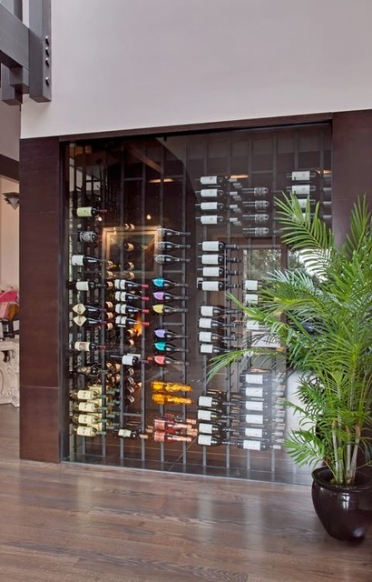 Vintage View Wine Racking - Contemporary - Wine Cellar - other metro - by Blue Grouse Wine Cellars