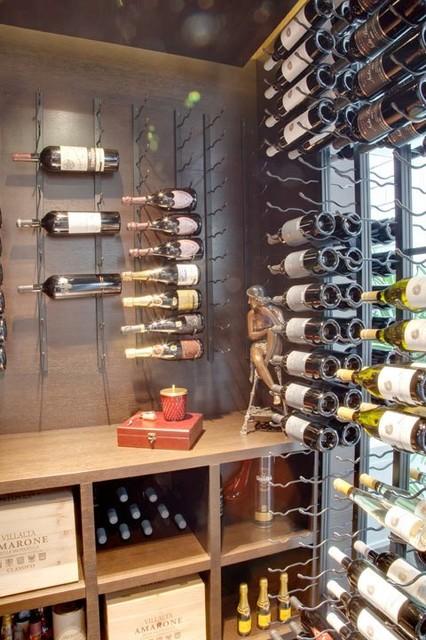 Vintage View Wine Racking contemporary-wine-cellar