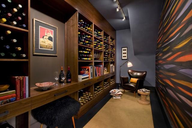 Vintneru0027s Vault SF Decoratoru0027s Showcase contemporary-wine-cellar & Vintneru0027s Vault SF Decoratoru0027s Showcase - Contemporary - Wine ...