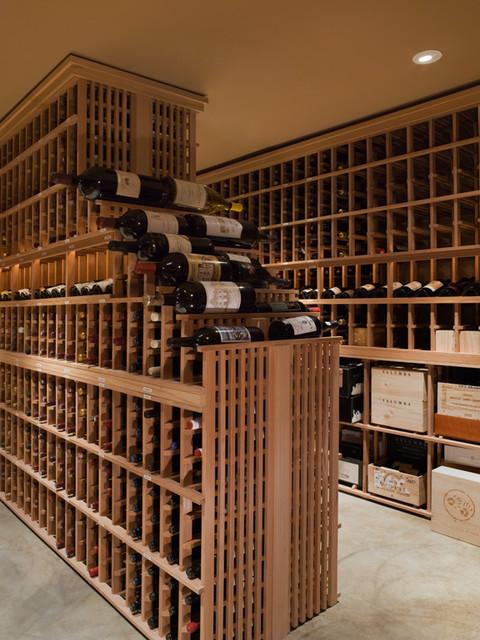 Vinyard Estates traditional-wine-cellar