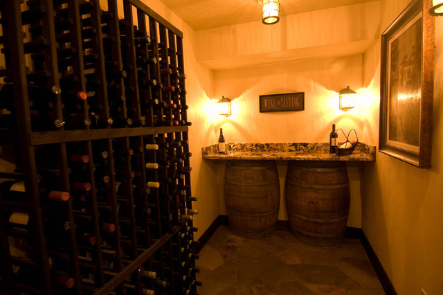 Virtuosity, Wine Cellar contemporary wine cellar