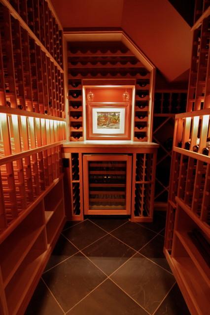 W. Kirkland, Washington contemporary-wine-cellar