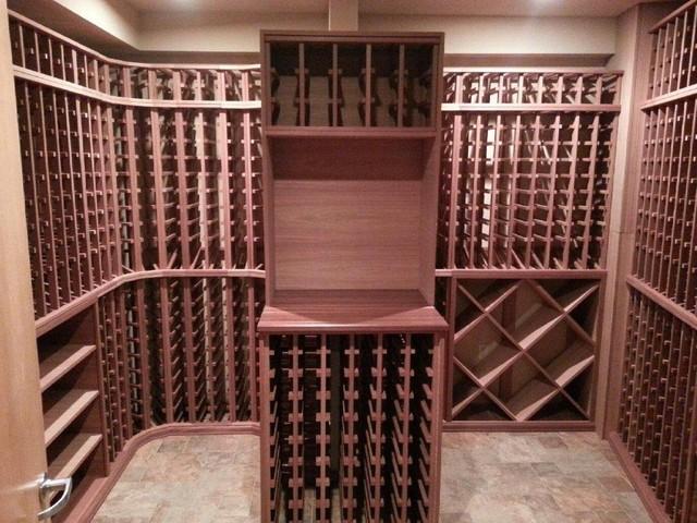 Wagner contemporary-wine-cellar