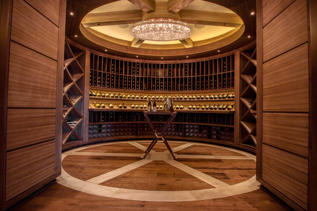 Walnut Wine Room Traditional Wine Cellar Denver By