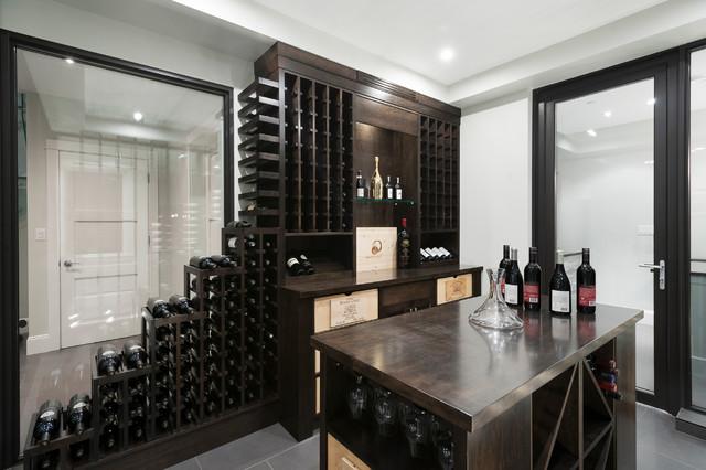 Design weinkeller  West Vancouver Horizon - Klassisch modern - Weinkeller - Vancouver ...