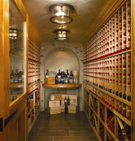 Westchester Magazine's Dream Home wine-cellar