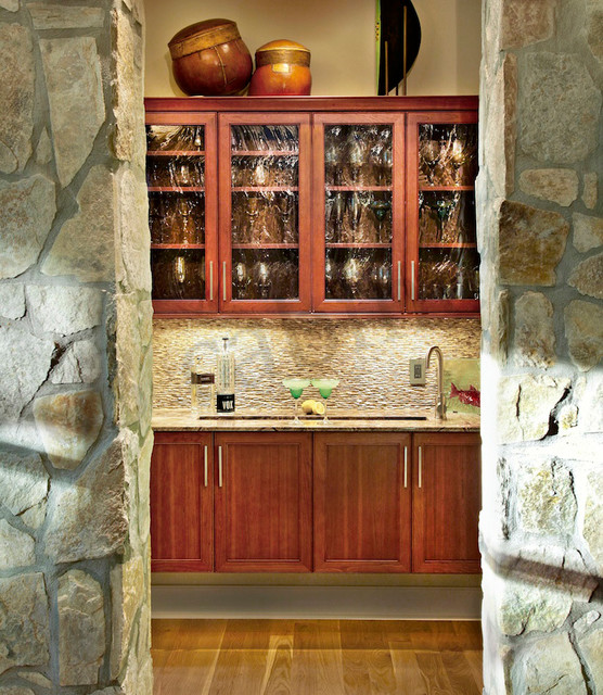 Wet Bar Gallery - Transitional - Wine Cellar - Charlotte - by E3 ...