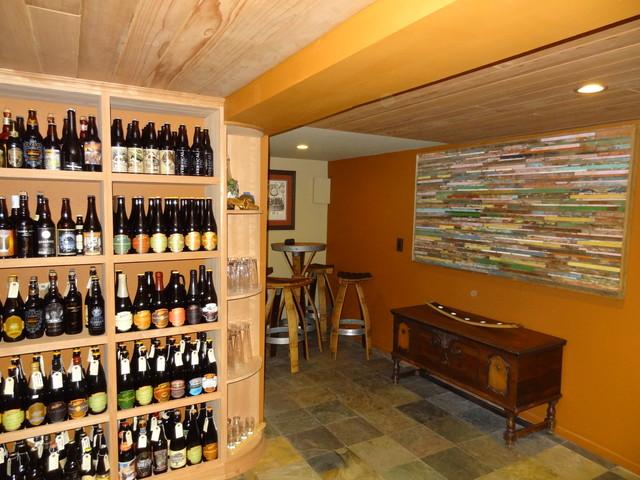 Wine u0026 Beer Cellar traditional-wine-cellar & Wine u0026 Beer Cellar - Traditional - Wine Cellar - San Diego - by ...