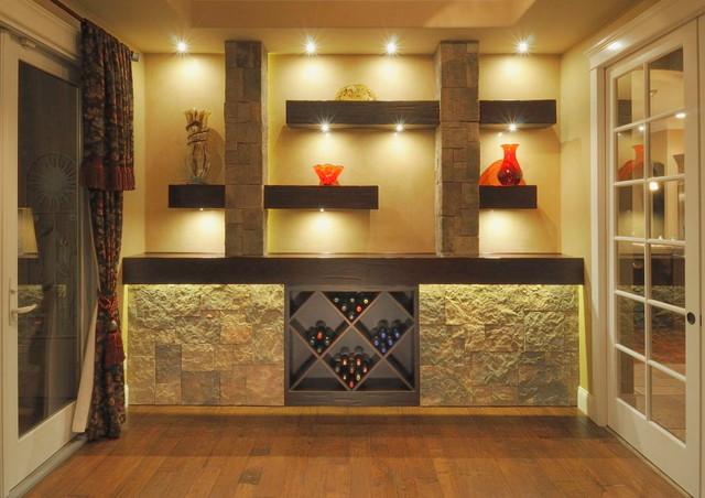 Wine and Rec Room Remodel contemporary-wine-cellar