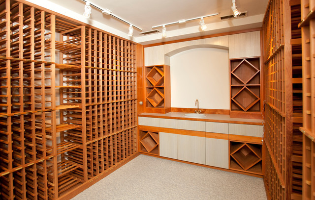 Wine / Bar / Wine Cellar Inspiration eclectic-wine-cellar