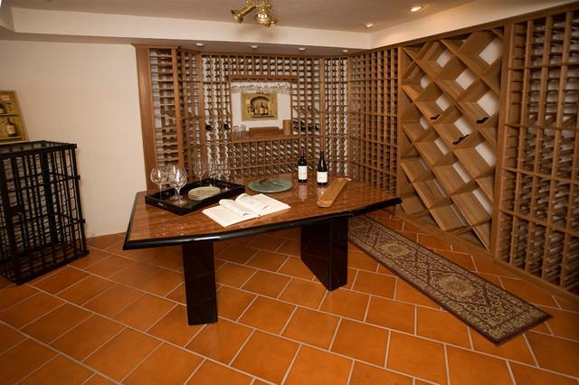 Wine / Bar / Wine Cellar Inspiration traditional-wine-cellar