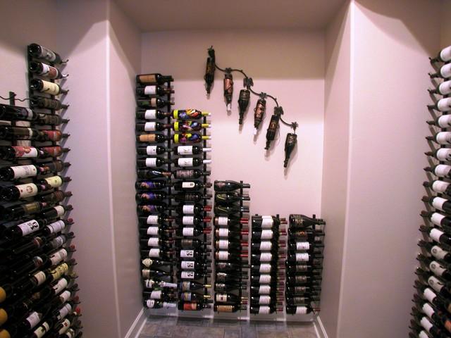 Wine Bottle Storage contemporary-wine-cellar