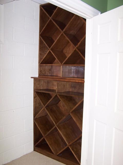 Wine Cabinet traditional-wine-cellar