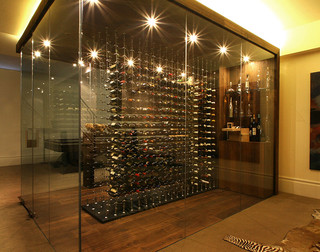 Wine Cable Exhibition - Modern - Wine Cellar - other metro - by J Mitchell Design