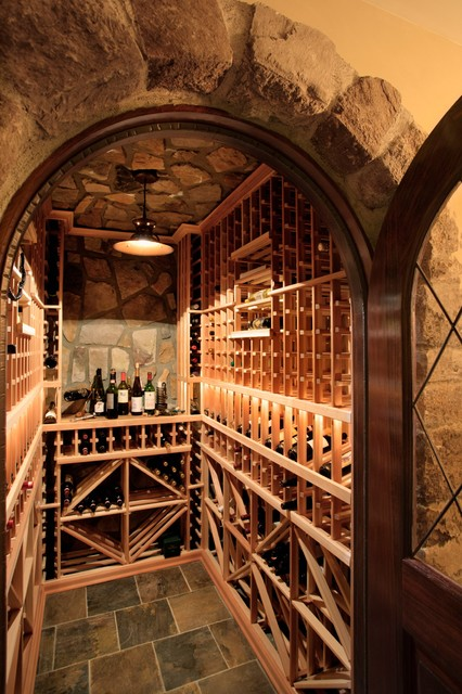 Wine Cellar Mediterranean Wine Cellar Charlotte By Alair Homes