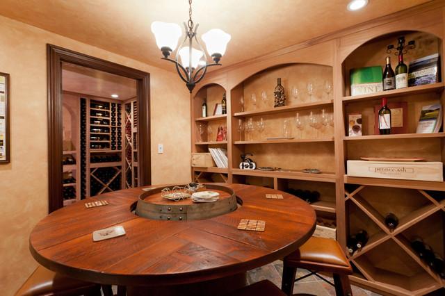 Wine Cellar and Tasting Room traditional-wine-cellar