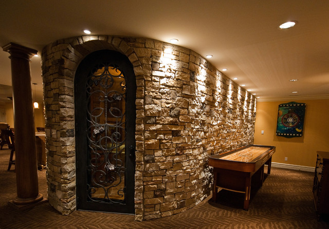 Wine Cellar Traditional Wine Cellar St Louis By