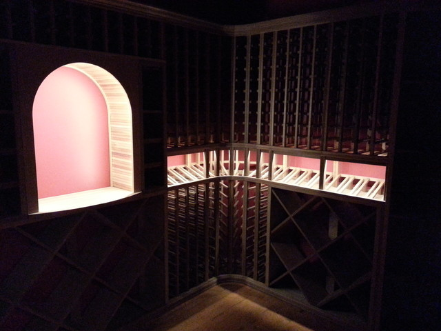 Wine Cellar Build and White Glove Install in Virgina traditional-wine-cellar