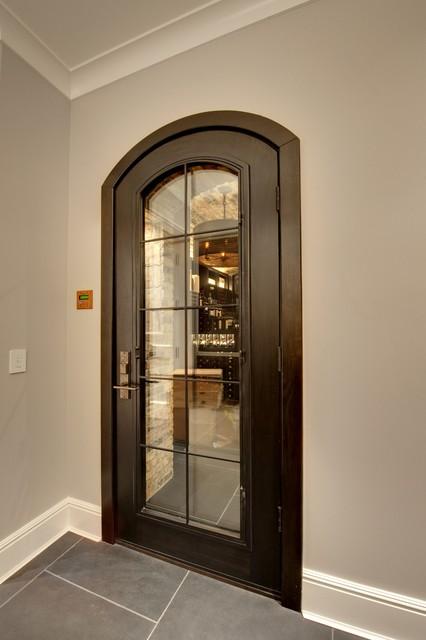 Wine cellar collection custom solid wood doors wine for Garage wine cellar