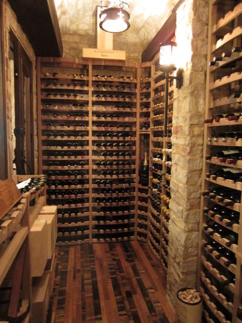 Wine Cellar Cooling FL traditional-wine-cellar
